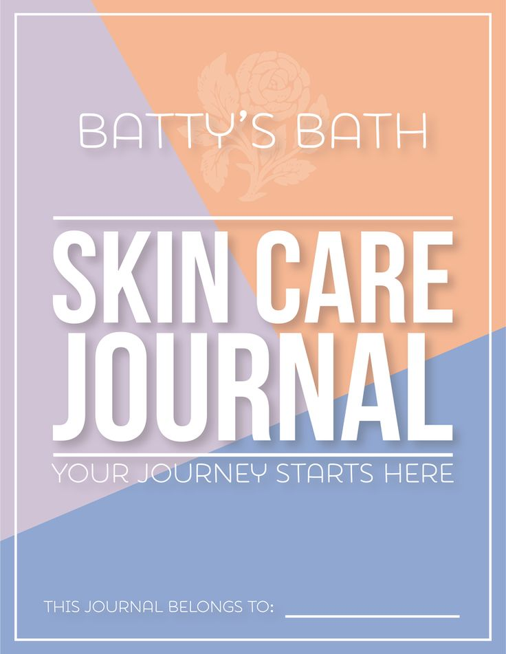Batty's Bath Skin Care Journal- Printable Download.    Many skin care challenges are caused by a combination of internal and external conditions. The journal can help you identify patterns with your skin - whether it's rosacea, acne, congestion, eczema, etc    Natural Skin Care | Organic Beauty | Cruelty Free | What causes acne | What causes rosacea | Breakouts | Why you breakout | Why skin problems | green beauty | eco friendly | vegan skincare