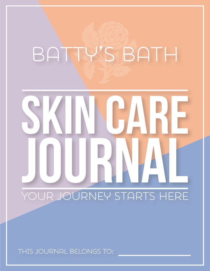 Batty's Bath Skin Care Journal- Printable Download