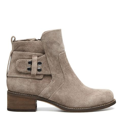 Cloudstomp Boot - Taupe – Harlequin Belle