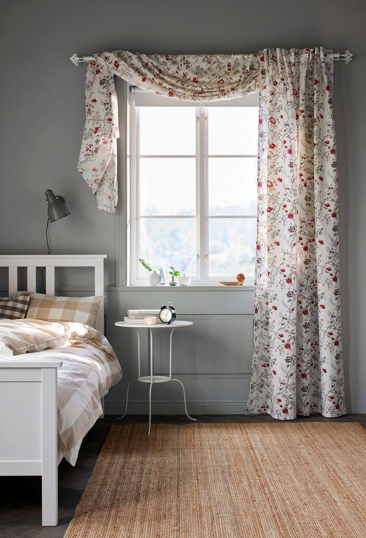 Fenstervorhänge Ideen für Frühling & Sommer