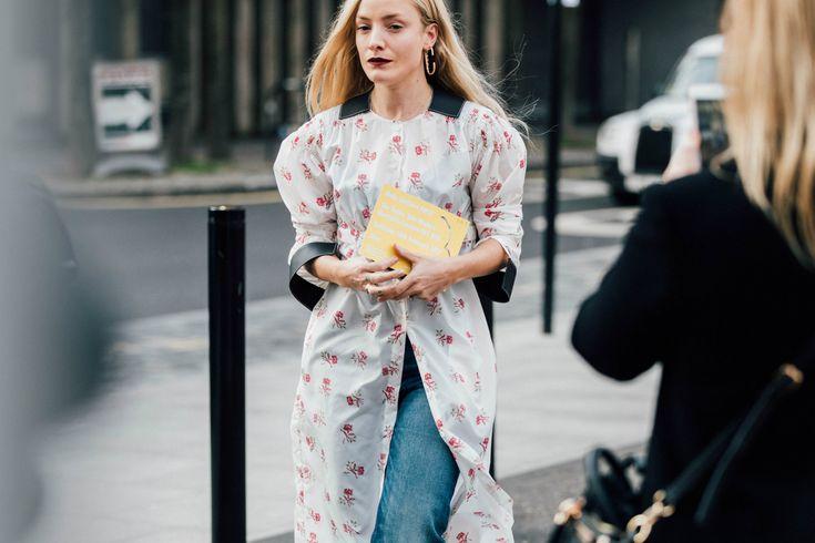 Sokak Stili: 2017 Sonbahar/Kış Londra Moda Haftası 2. ve 3. Gün