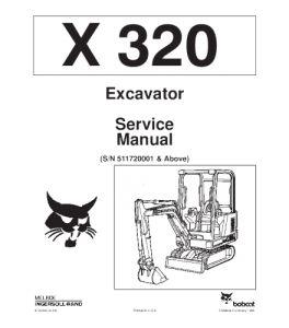 Best download bobcat x320 excavator service manual