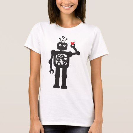 Heart Bot Apparel T-Shirt - tap to personalize and get yours