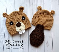 How cute and funny is this hat?  Crochet pattern on Ravelry