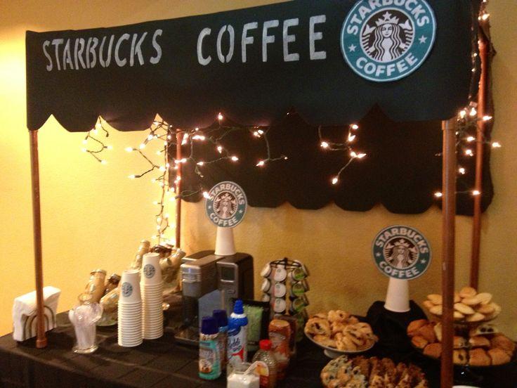 Starbucks birthday party!
