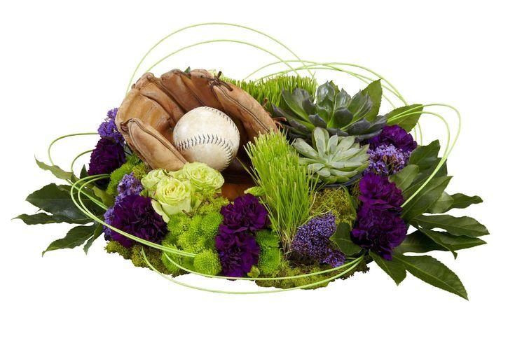 A tribute for an avid baseball fan.