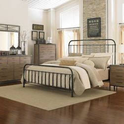 eclectic bedroom furniture. magnussen home furnishings shady grove metal bedroom set eclectic furniture n