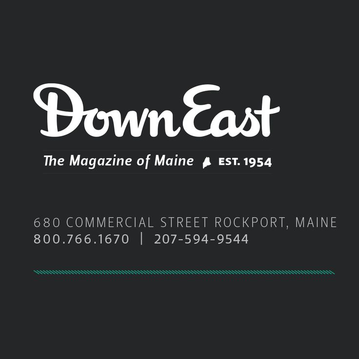 Down East Maine Magazine: lots of good info