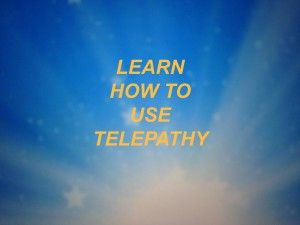 how to learn telepathy techniques
