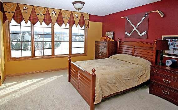 boys hockey bedroom