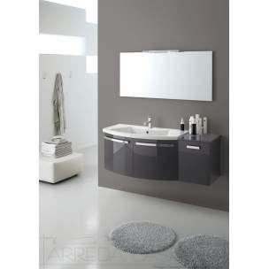 Mobile bagno 73x54xh185 eco incluso di specchiera e