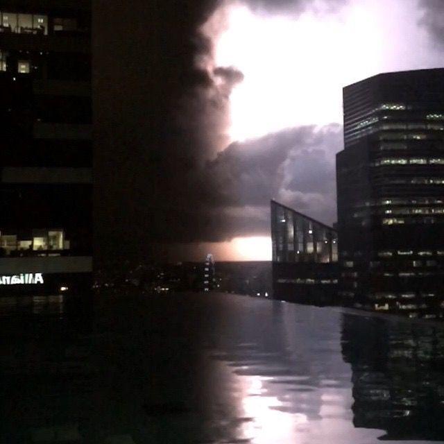 #singapore #lightning #flash #nofilter