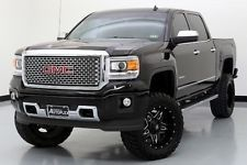 GMC : Sierra 1500 Denali 14 gmc sierra denali 6 inch rcx lift 20 inch fuel wheels nav backup camera