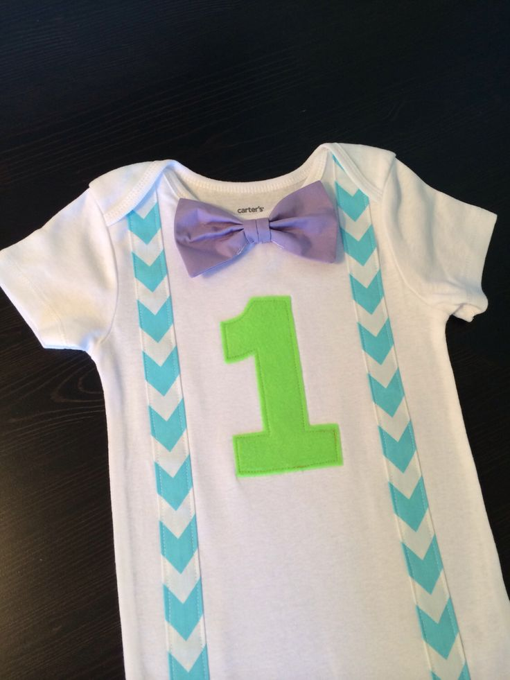 Monsters Inc. inspired Baby Boy 1st Birthday Shirt with purple Bow Tie, aqua cevron Suspenders, Number, First Birthday onesie,1st by ByEllenBaby on Etsy https://www.etsy.com/listing/233070158/monsters-inc-inspired-baby-boy-1st