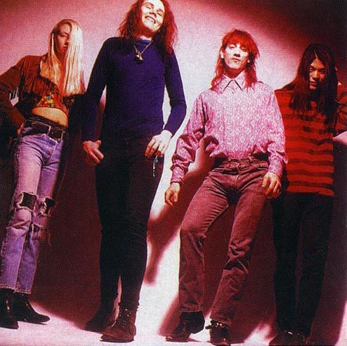Smashing Pumpkins, waaay back when, probably late 80s, early 90s at least.