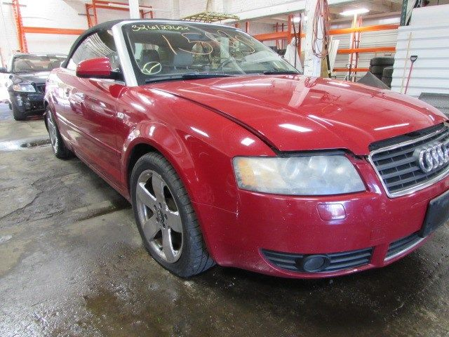 Parting out 2003 Audi A4 – Stock # 150305 « Tom's Foreign Auto Parts – Quality Used Auto Parts - Every part on this car is for sale! Click the pic to shop, leave us a comment or give us a call at 800-973-5506!