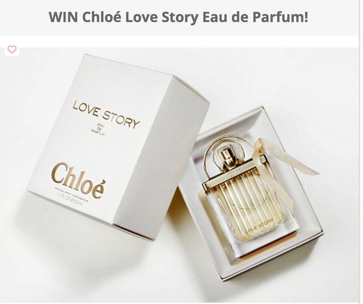 FLASH #Giveaway World wide free sweepstakes Chloé Love Story Eau De Parfum Giveaway