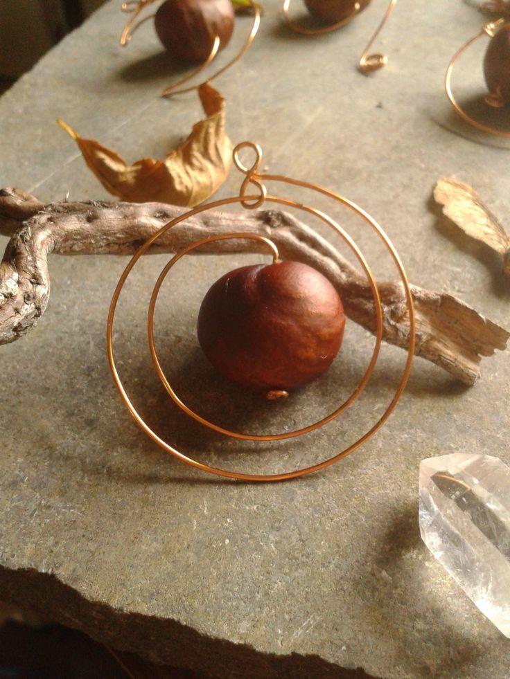 Kinsale Conkers Bespoke Botanical Jewellery ~ Infinite pendant  www.kinsaleconkers.wix.com/kinsaleconkers