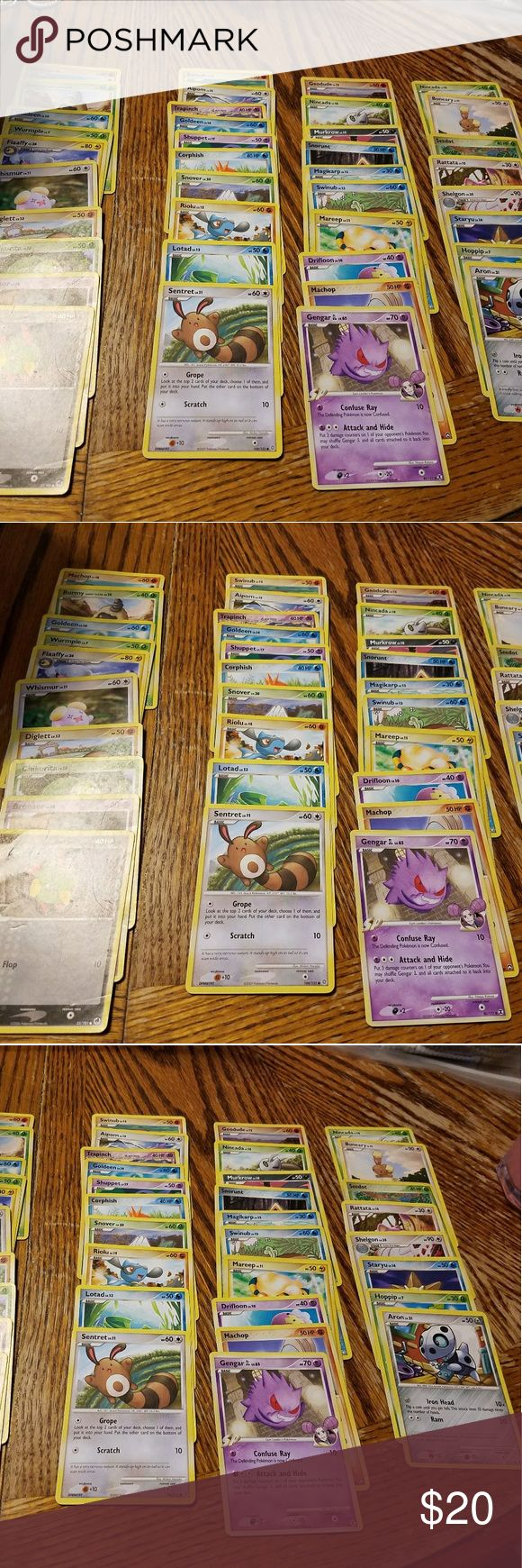 PREOWNED POKEMON CARDS GOOD CONDITION 38 CARDS TOTAL Pokemon Other