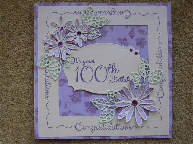 100th Birthday Cards Pinterest 60th