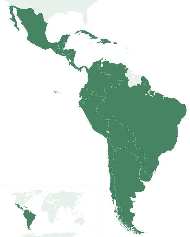 Más De 25 Ideas Increíbles Sobre Mapa America Latina En