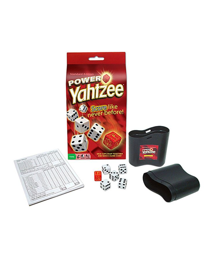Take a look at this Power Yahtzee Game today!