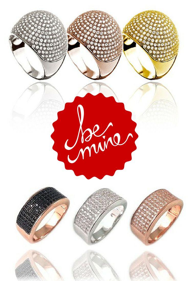 Anillos de plata 925m  Encuentra tu regalo de San Valentín en www.capricciplata.com www.facebook.com/...  #joyas #plata #anillos #regalos #complementos #moda #fashion