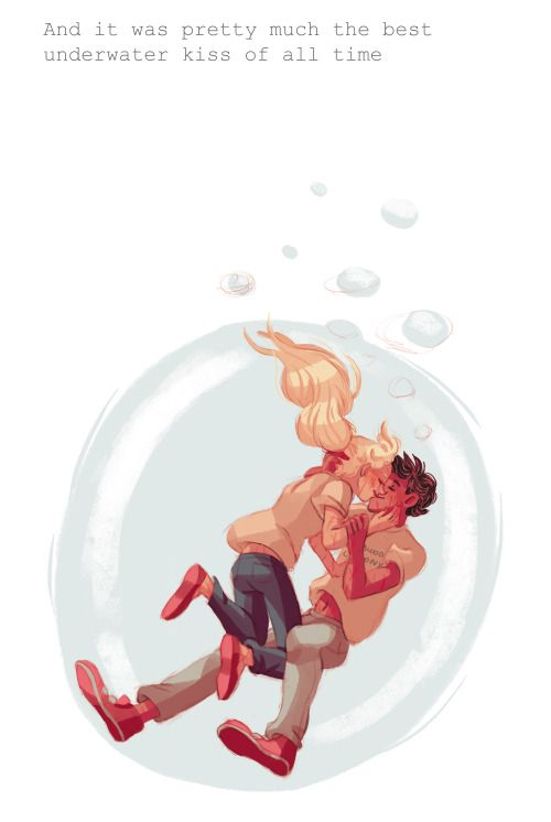 Yes, Percabeth's underwater kiss was the best underwater kiss ever! <3
