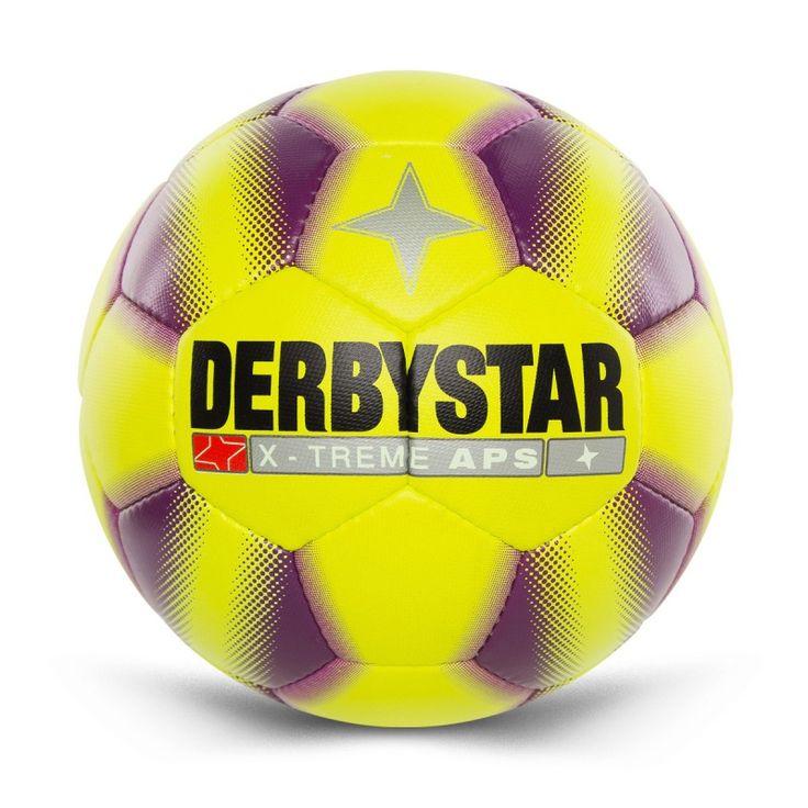 Koop je geel paarse Derby Star Kunstgras Voetbal voordelig online in de sportshop