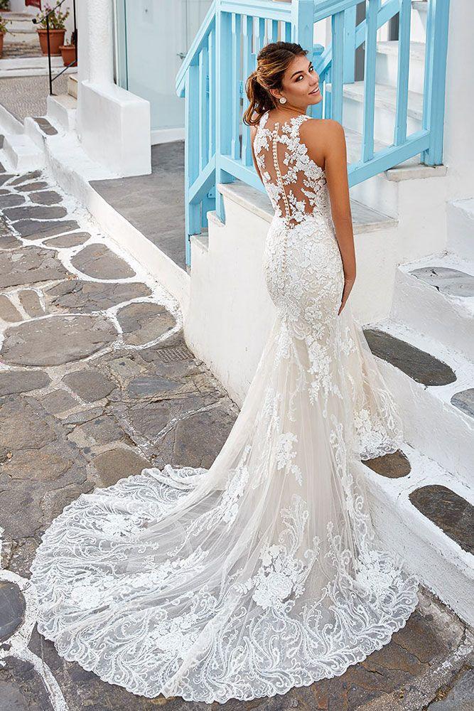 Mermaid Brautkleid Tattoo Spitze Hochzeitskleid Spitze Kleider Hochzeit Braut