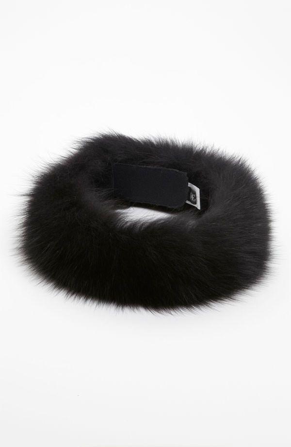 Dena Fox Fur Headwrap