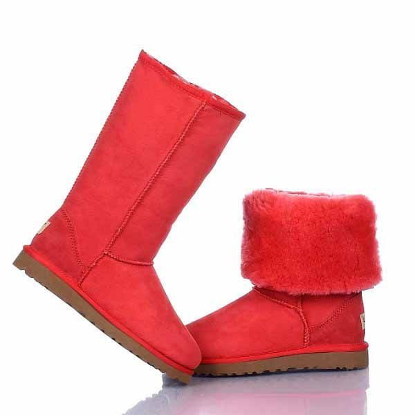 Ugg Classic Tall Boots 5815 Red  http://uggbootshub.com/ugg-boots-tall-ugg-classic-tall-boots-5815-c-5_22.html