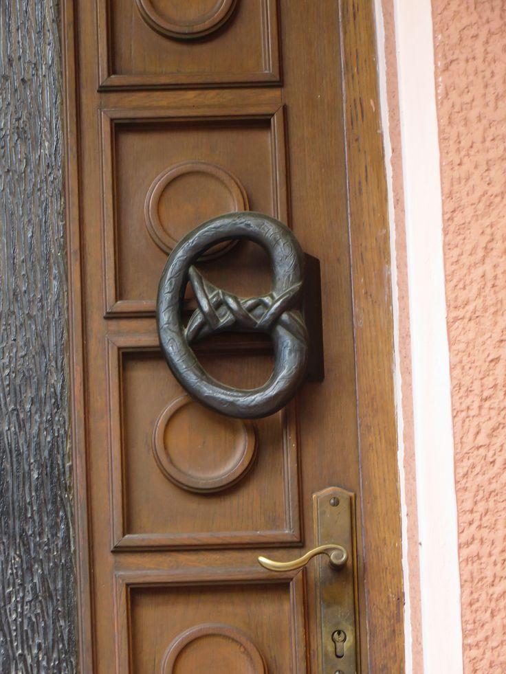 Door handle - pretzel / FYROM