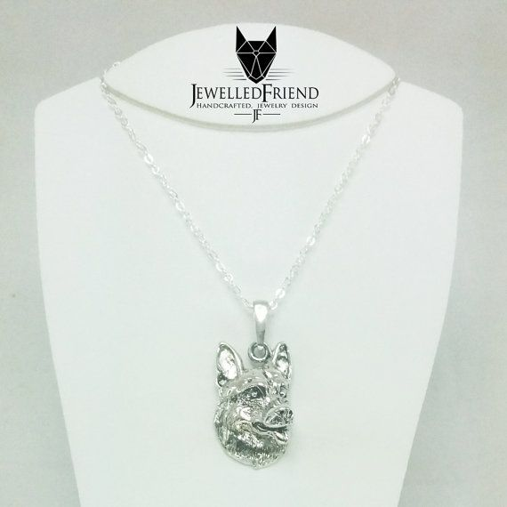 Check out German shepherd pendant jewelry on jewelledfriend