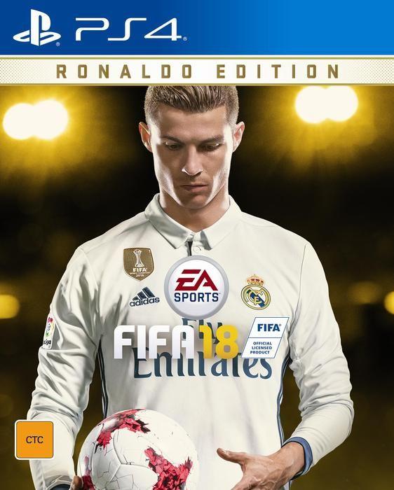 Cristiano Ronaldo Jadi Cover Game FIFA 18