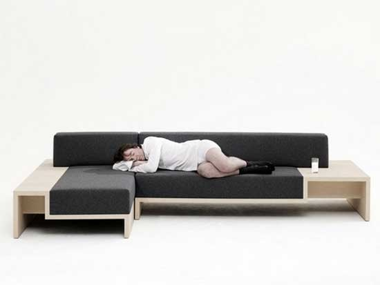 Practical And Functional Modular Sofa Bed For Small Room   A Young Designer  From Netherlands,