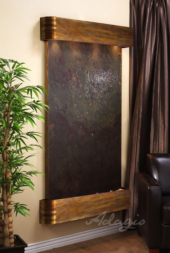 323 best images about wall water features indoor on - Indoor wall water features ...