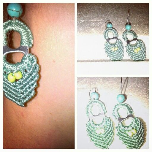 Macrame earrings