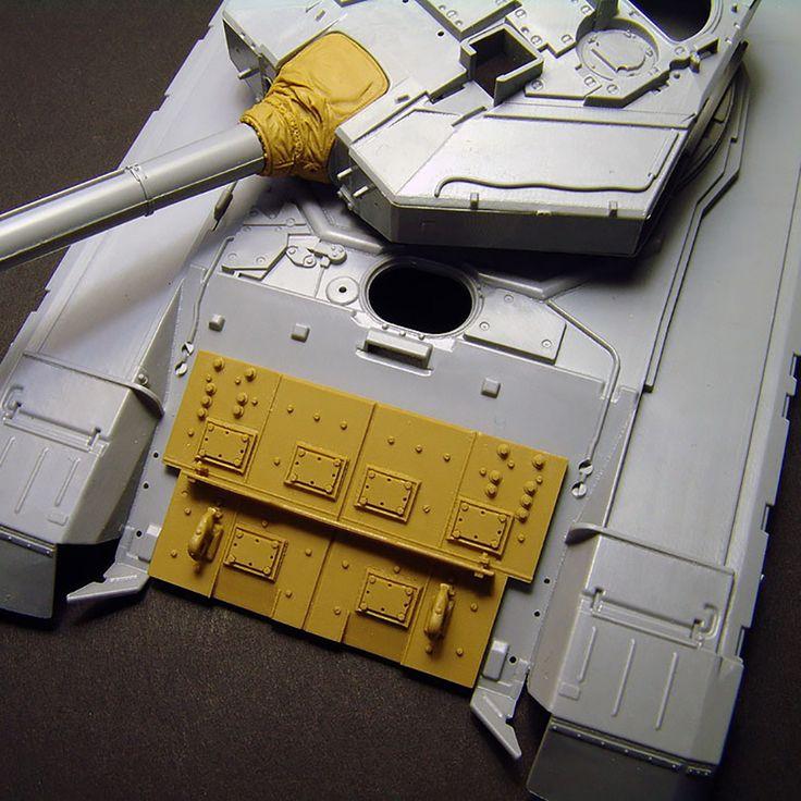 1/35 resincast model T-90 Russian MBT Armor Set (for ZVEZDA)