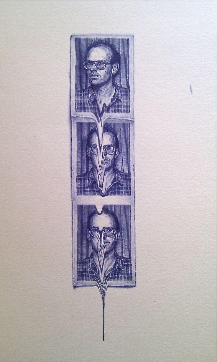 Slide (Portrait of Andrew Carnie) | Greg Gilbert - Biro