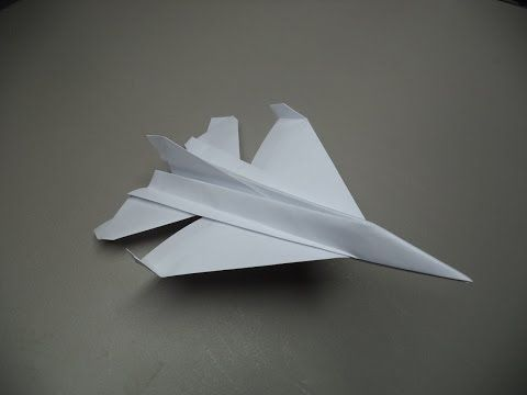 How to Fold an Origami F-16 Plane: 18 Steps (with Pictures)