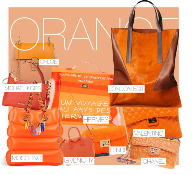 Orange Is The New Black... it's the next colored bag everyone needs!