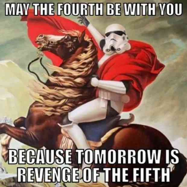 The 19 Best May The 4th Memes To Share On Facebook If You Love Star Wars Day Happy Star Wars Day Star Wars Humor Star Wars Quotes