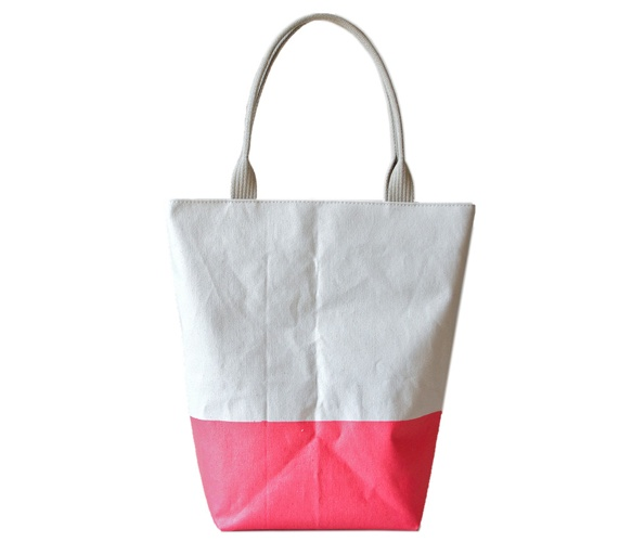 Latex Dipped Tote from rib and hull