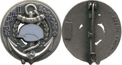 1er Régiment Blindé Infanterie de Marine UCS SARAJEVO 1994