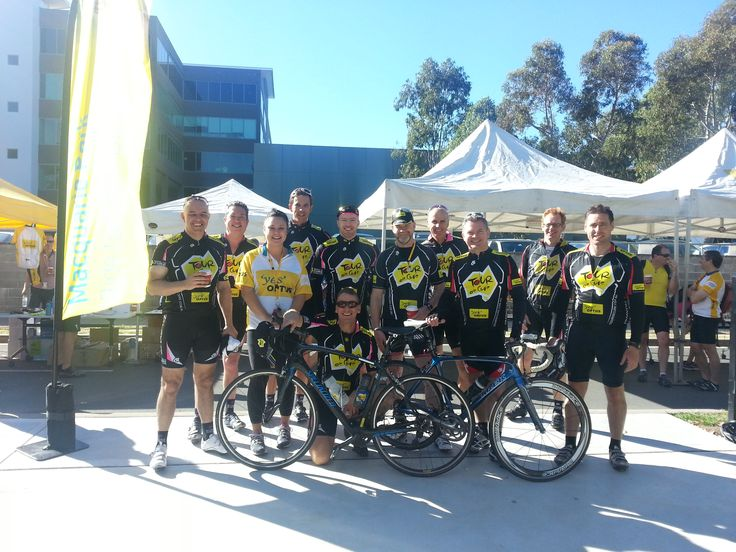 Cyclists participate in Ride 2 Work Day 2013 - Macquarie Park, NSW. #Ride2Work #Cycle #Bicycle #Bike #Ride #Lycra #MacquariePark