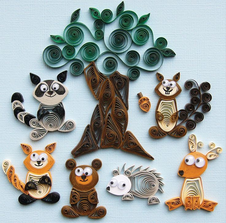 Quilled Creations Quilling KIT Forest Buddies | eBay