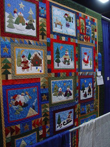 TWTME State Fair Christmas Quilt/Block