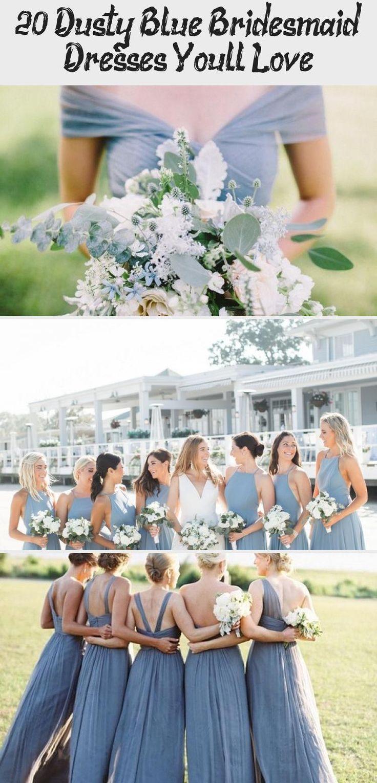 dusty blue wedding color ideas - dusty blue bridesmaid dresses  #weddings #wedding #blueweddings #weddingcolors #weddingideas #dustyblue #beautiful #dresses #bridesmaid #BridesmaidDressesLace #BridesmaidDressesShort #PeachBridesmaidDresses #BridesmaidDressesHijab #TealBridesmaidDresses
