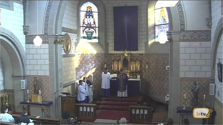 Traditional Latin Mass on Passion Sunday, from Canisiuskirche, #Saarlouis 13 March 2016  #Saarland **Note: Due to transmission issues, start of Mass not transmitted.  Holy Mass, in the Extraordinary Form of the Roman Rite, Missa Cantata on Passion Sunday, the Fifth Sunday of Lent, from the Canisiuskirche, #Saarlouis, #Germany. Presided by Fr. Andre Hahn, FSSP ~ Heilige Messe in der ausserordentlichen Form des roemischen Ritus, Missa http://saar.city/?p=22773